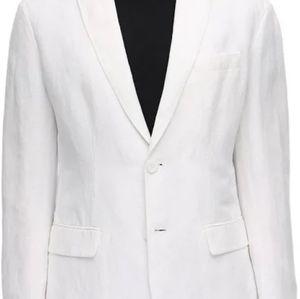Armani Jeans White Blazer